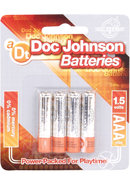 Doc Johnson Batteries Aaa (4 Pack)