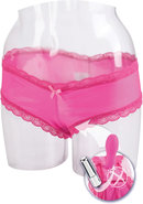 Love Rider Self Pleasurizer Waterproof Vibrating Panty Pink