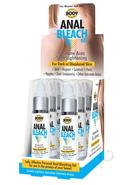 Body Action Anal Bleach Gel 1oz 6/disp