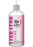 Adam And Eve Vibrator Water Based Lube 16 Ounce