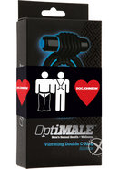 Optimale Vibrate Double Cring Blk Pride
