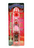 Cyberwabbit With Twisting Metal Bead Action Red