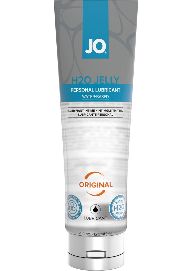 Jo H2o Water Based Jelly Lubricant Original 4oz